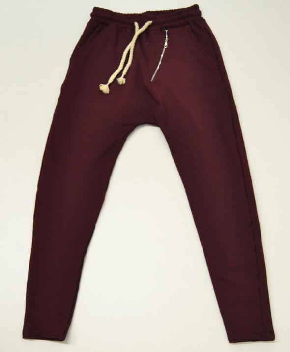 Pantalone Tuta Bordeux