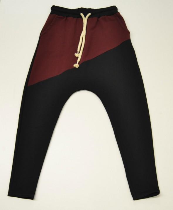Pantalone Tuta Black Bordeux