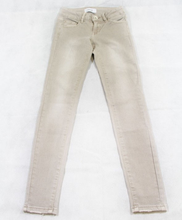 Jeans Color Beige