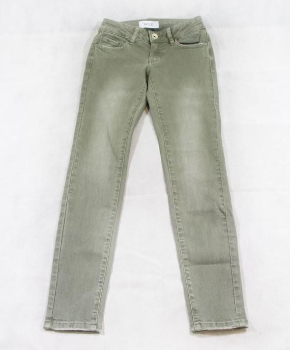 Jeans Color Verde