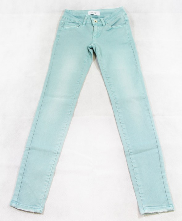 Jeans Color Acqua