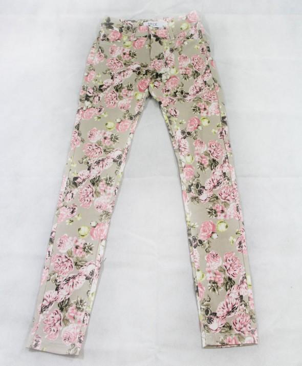 Pantalone Flower Beige