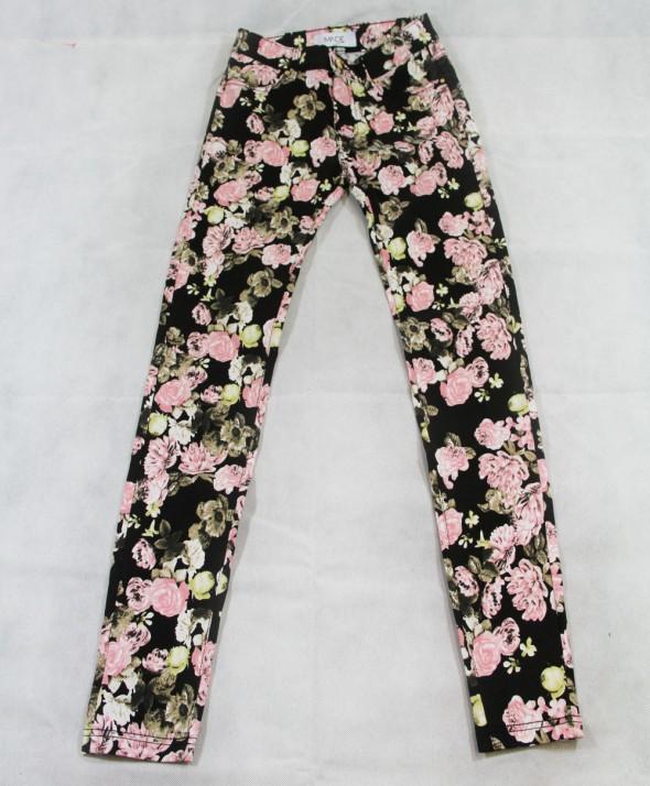 Pantalone Flower black
