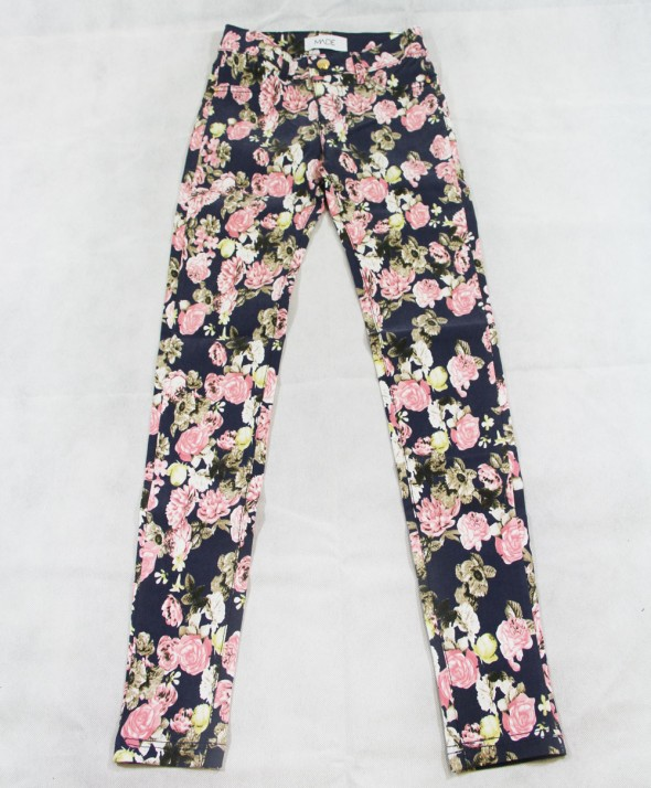 Pantalone Flower blue