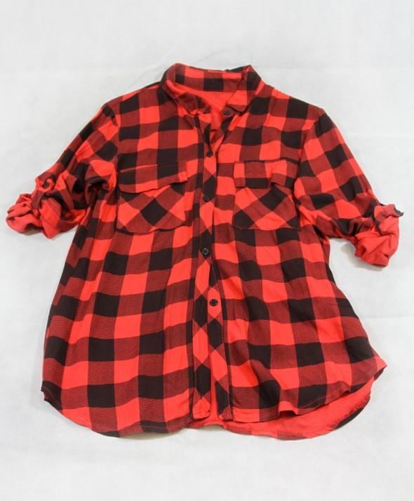 Camicia quadri Red