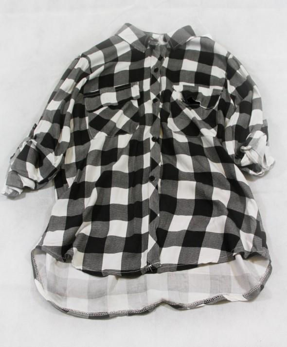 Camicia quadri Black