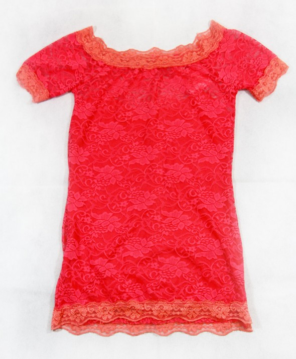 Maglia Pizzo Red Fluo